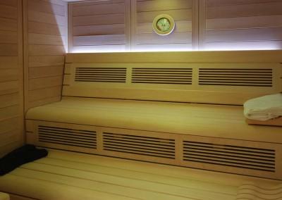 Sauna infrarrojos
