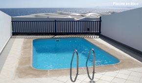 AGUASPORT piscinas.  Piscina ático
