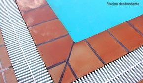 AGUASPORT piscinas. Piscina desbordante