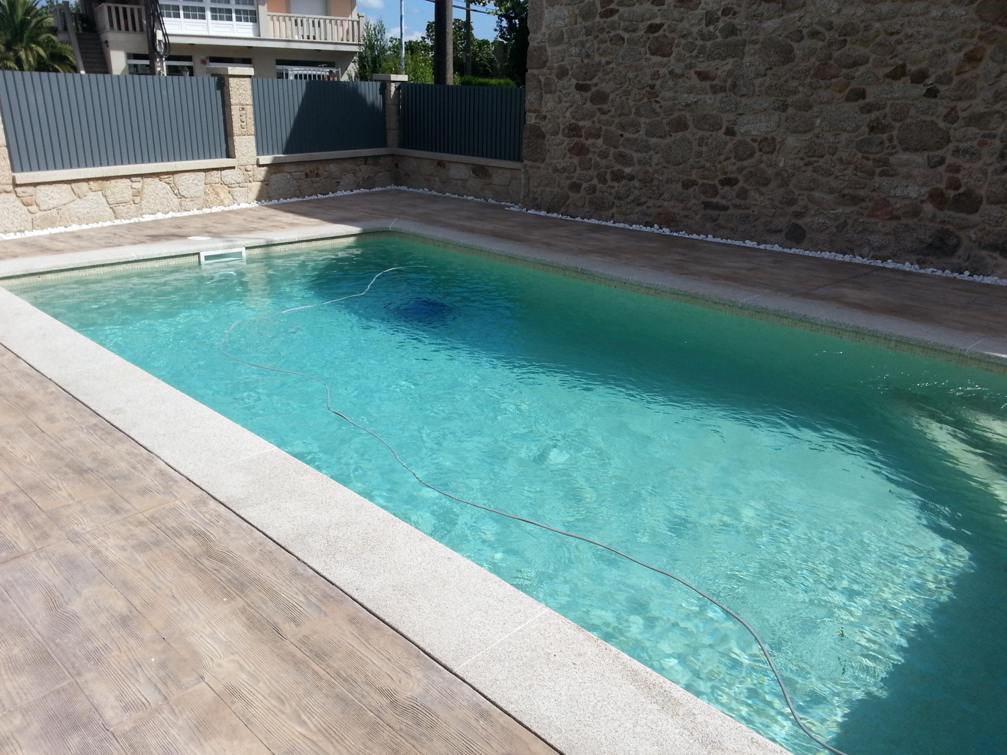 piscina gresite blanco construccin piscinas gresite