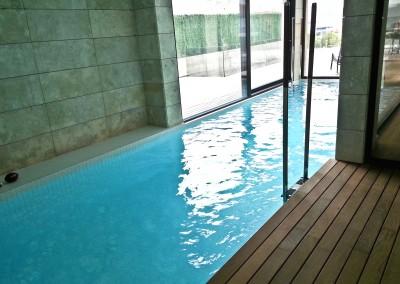 Ver galería piscinas hormigón interiores