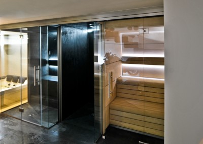 Sauna y baño de vapor